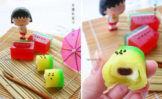 """这种日本""""月饼""""是不是很可爱呢?"""
