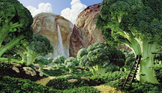 絕美食物風景畫:讓蔬菜水果當主角