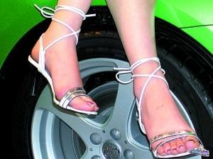 女性朋友不宜穿高跟鞋