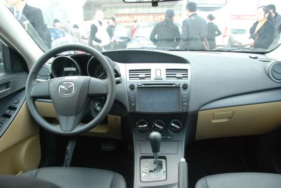 Mazda3星骋内饰-向完美说不 深度试驾Mazda3星骋高清图片
