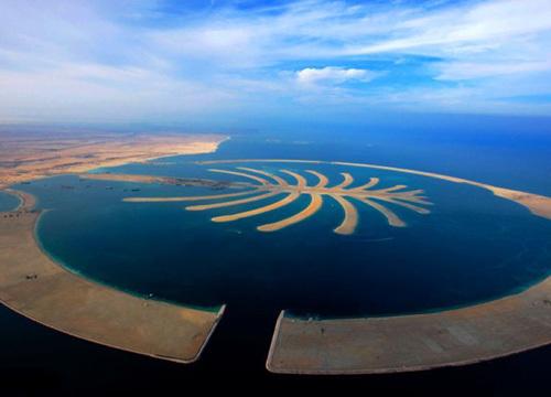 世界第八奇迹 迪拜棕榈岛