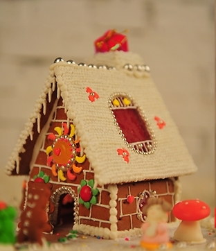 圣诞姜饼屋的做法图解9;
