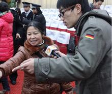 湖南卫视采访乘客