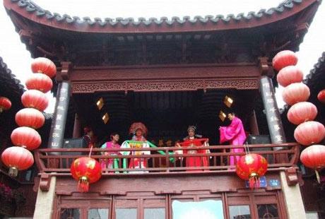 南京高淳薛城村