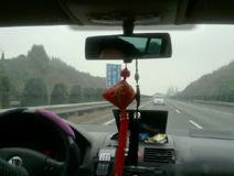 @申佳囡:雾气依旧浓 快到南昌了
