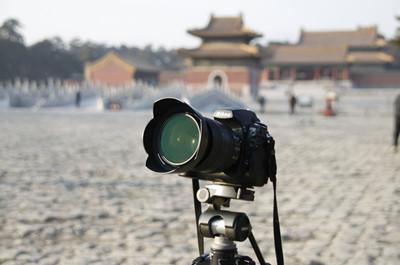 开始摄影,相机已到位