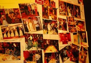 塔可餐厅的照片墙