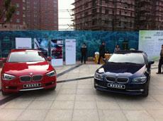 2012年全新上市 BMW新1系车展