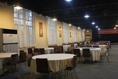 餐厅共设108桌,好霸气的说