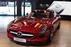 奔驰SLS AMG超级跑车优惠63万