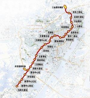 是武汉轨道线网中衔接汉阳