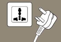 用完电器拔插头