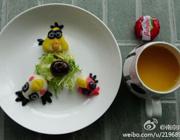 愤怒的小鸟+奶酪+橙汁