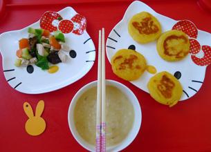 @童心99blog:kitty猫爱心早餐