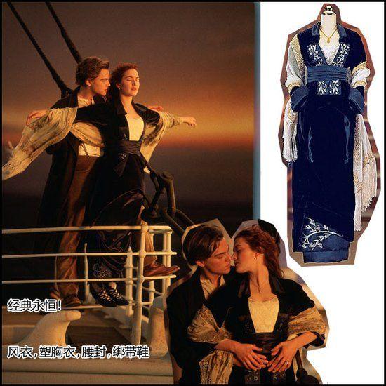 复古风呼呼吹 《泰坦尼克号》华丽造型大起底