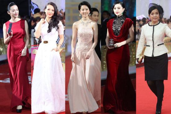 第二届北京电影节红毯厮杀 范冰冰章子怡红白火拼