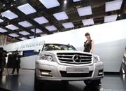 北京奔驰国产GLK 售40.8-55.7万