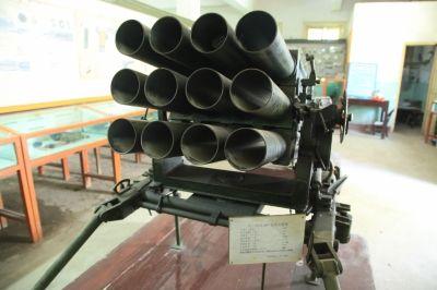 国产63式107毫米火箭炮