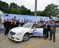 南京文华英菲尼迪G-Force选拔赛激情开赛