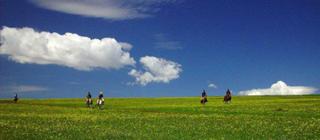穿越飞狐峪览空中草原
