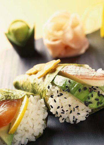 日本珍珠米饭团