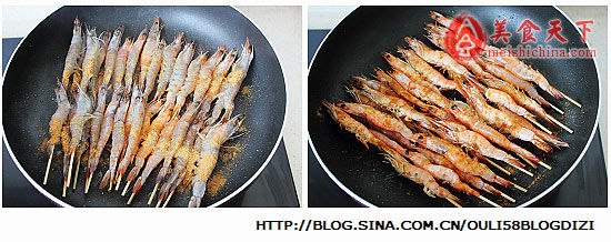 烧烤串串虾 简单三步家庭安心自制
