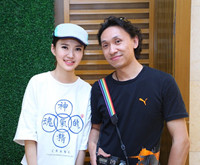 麻豆和摄影师