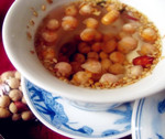 姜盐豆子茶