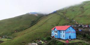 蓝色的小屋