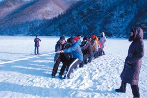 冰上趣味运动会