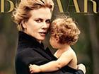 妮可·基德曼拥吻怀中幼女唯美温馨