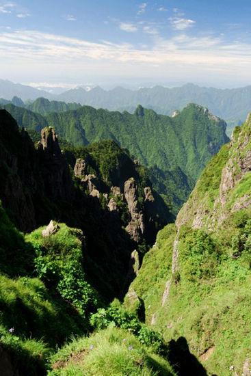 新浪旅游配图:神农谷 摄影:如影随行