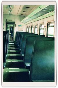 南京西站绿皮小火车