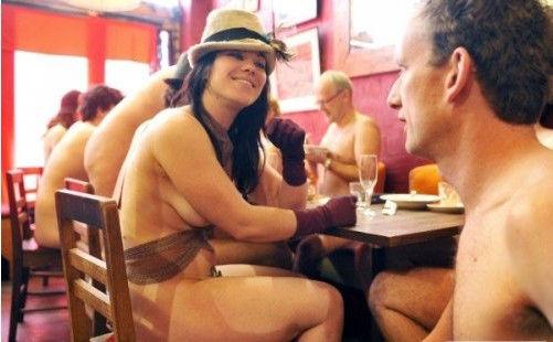 墨尔本裸体咖啡厅