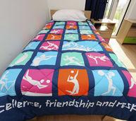 奥运村内的床