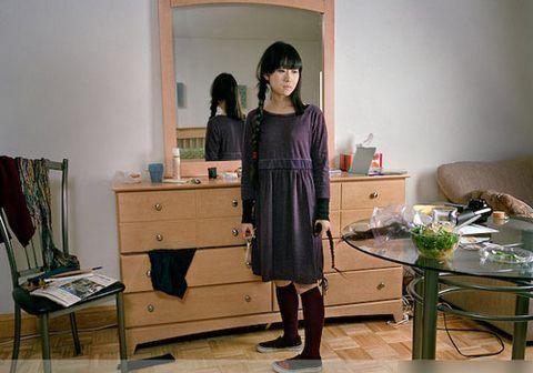 曝日本女留学生混乱私生活