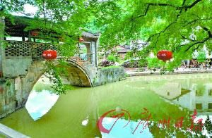 具有楚天民风的刘家桥村