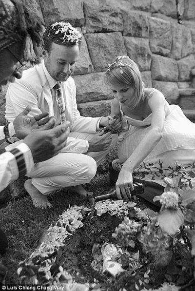 别具一格的印度婚礼。