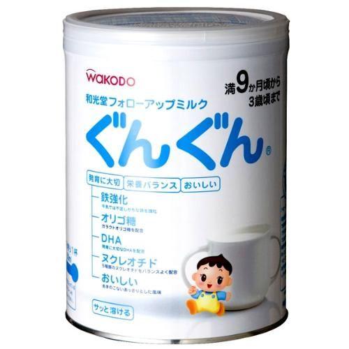 日本两款奶粉碘含量偏低