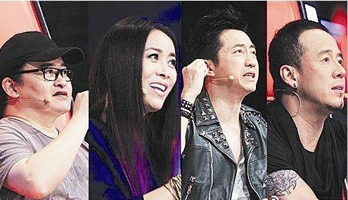 刘欢、那英、庾澄庆、杨坤