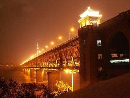 长江大桥夜景