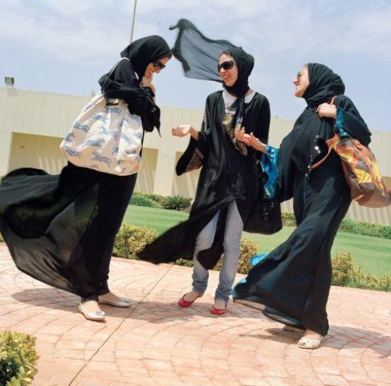 阿拉伯女子的真性情