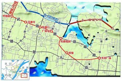 武昌东西交通未来2年不容乐观 制图 陶刚
