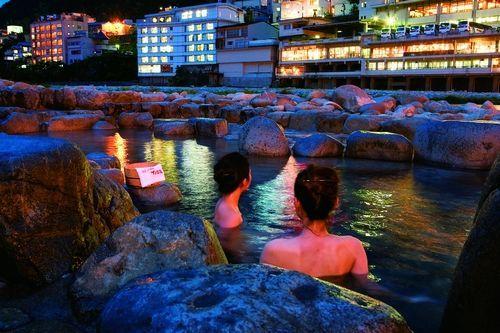 新浪旅游配图:日式秘汤 来源:日本岐阜县旅游局