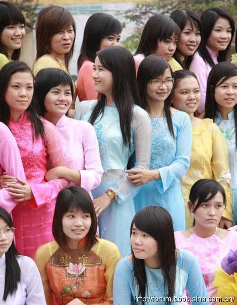 看东南亚风情万种 越南女人最风情