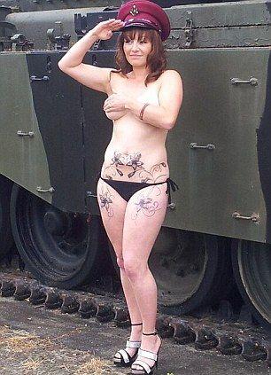 愿意为国牺牲的女子