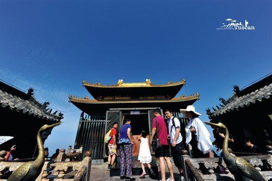武当山经典景观