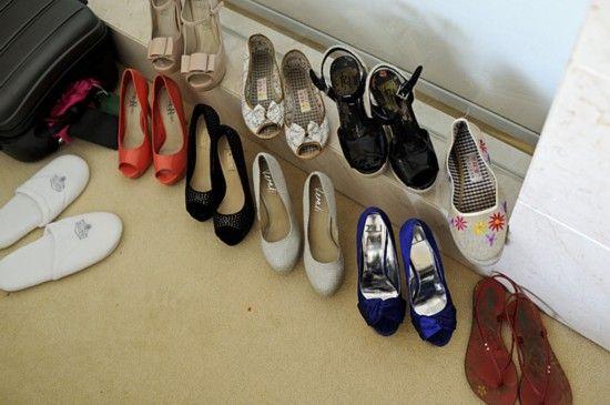 """当然也有规整的""""鞋控""""。"""