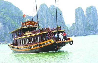越南亚龙湾美景
