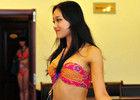 重庆国际小姐季军陶玉洁参加总决赛